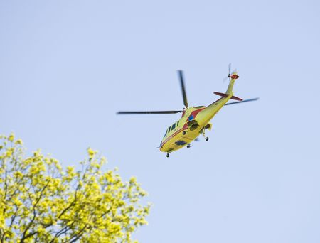 faa: Medical transportation with a helicopter