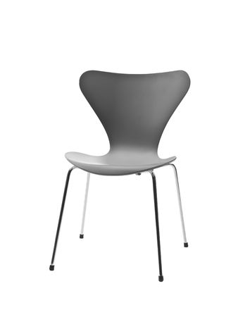 modern chair: Single chair isolated on a white background