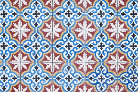 Arabic mosaic as a pattern