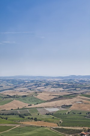 Landscape in the middle of Italy photo