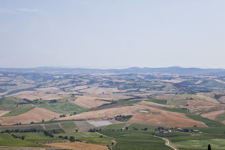 View of a Tuscan Landscape photo