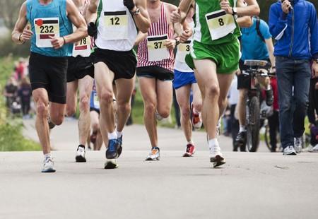 marathon: Runners in a Marathon
