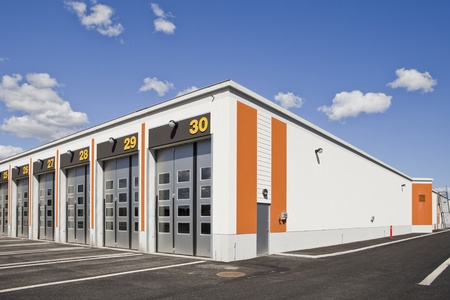 Warehouse with modern architecture on a sunny day Stock Photo - 10693961