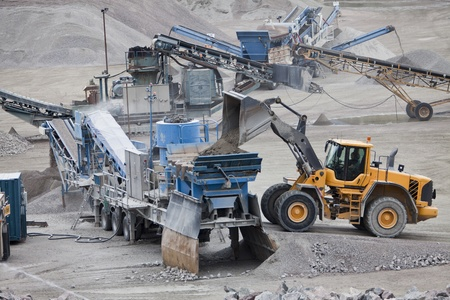 anthracite coal: Activity in the Construction Site Editorial