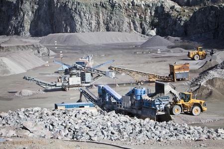 camion minero: La actividad en el sitio de construcci�n