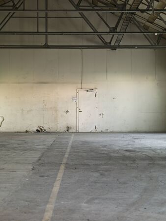 Worn Warehouse interior with bad condition Stock Photo - 11016818