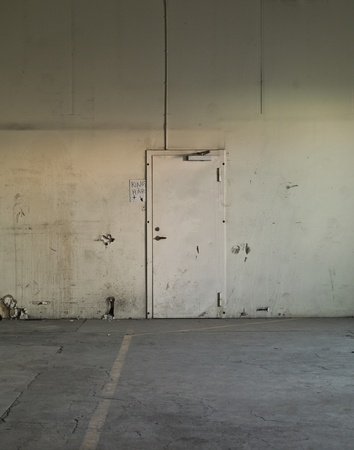 bad condition: Worn Warehouse interior with bad condition Editorial
