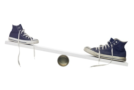 big and small: Balance between shoes with different size