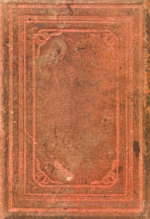 Red Antique Book Full Frame Stock Photo - 12302936
