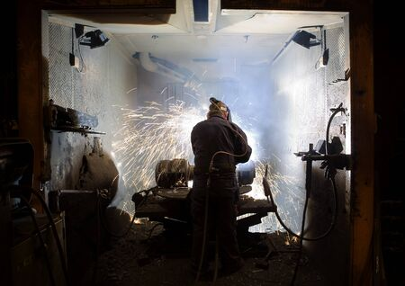 foundry: Man in metal Industry