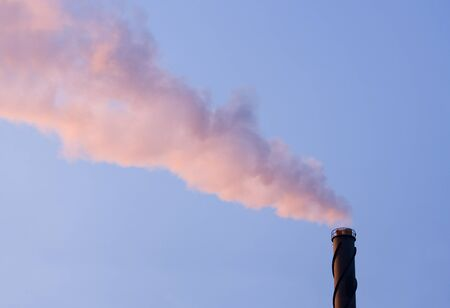 Inustry pipe towards blue sky Stock Photo - 12303557