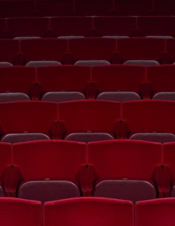 Full Frame of Spectators seats photo