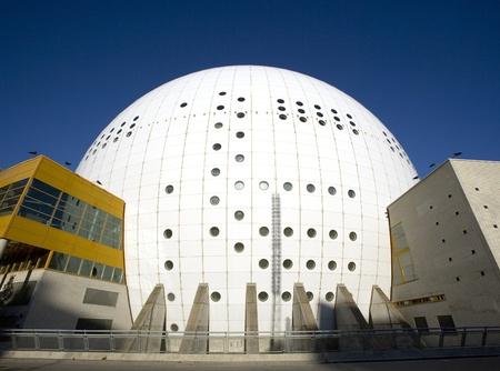 scandinavian peninsula: Stockholm Globe Arena in Stockholm
