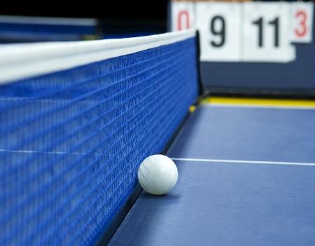 tennis de table: Tennis de table Nature morte avec Mise au point s�lective Banque d'images