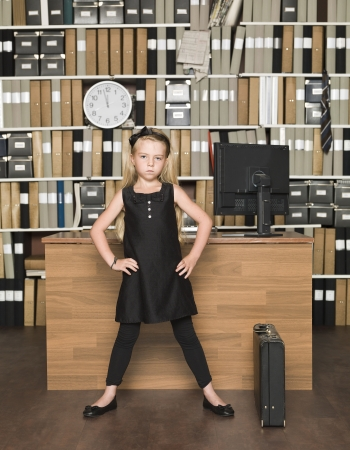 Young Female Boss at the office Stock Photo - 14903362