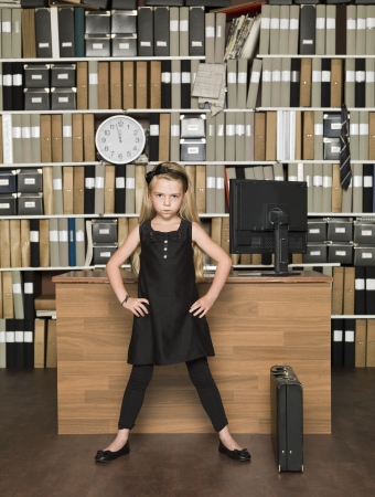 Young Female Boss at the office Stock Photo - 14903371