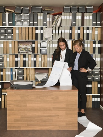 Busy Businesswomen at the office Stock Photo - 14903431