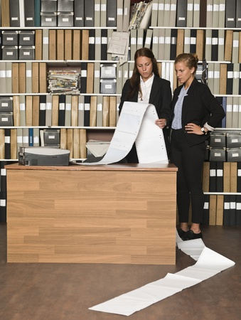 Busy Businesswomen at the office Stock Photo - 14903419