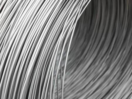 steel wire: Full Frame of Steel Wire Stock Photo