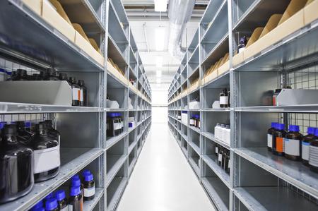 Interior of a Medicine Warehouse