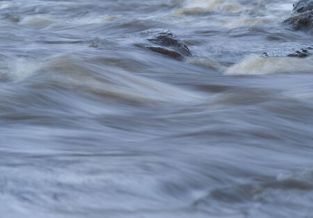 flowing water: Full Frame of Flowing Water Stock Photo