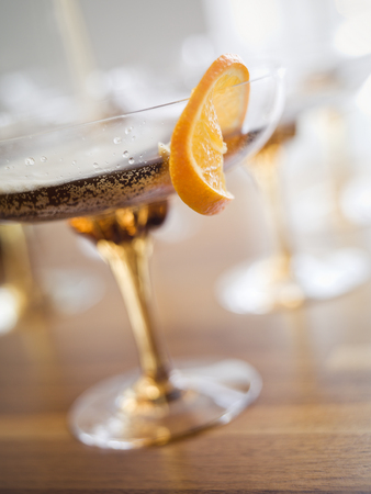 Close up of a cocktail photo