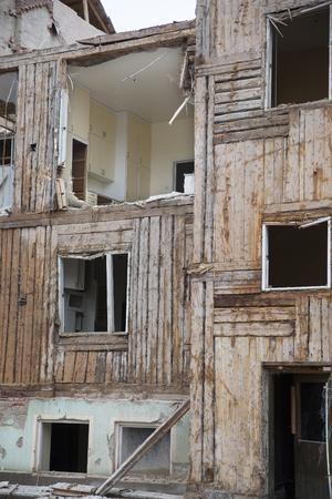 demolishing: Demolishing of a Recidential Area