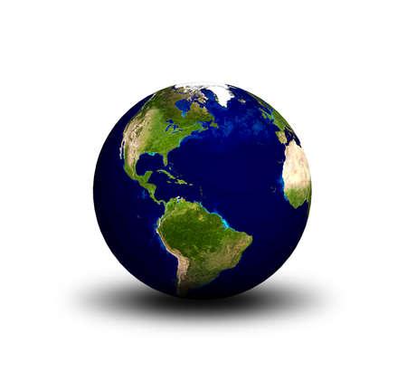 atlantic ocean: 3D Earth