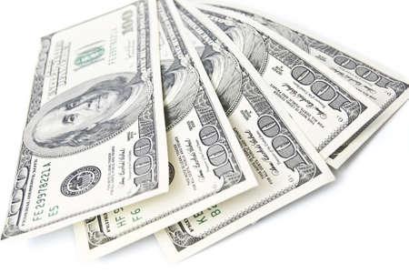 Close-up of American money