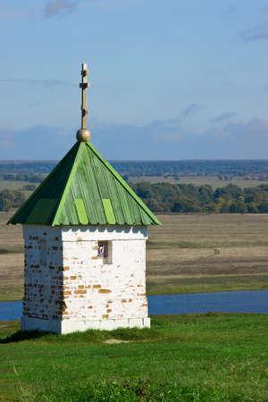 Lonely chapel Stock Photo
