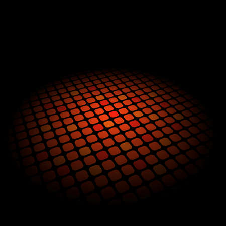 Abstract pattern on deep background