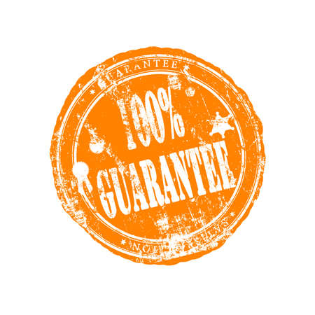 Guarantee stamp photo