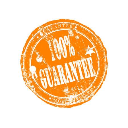 Guarantee stamp Stock Photo - 14747821