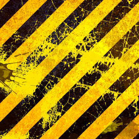 Black and yellow grunge background photo