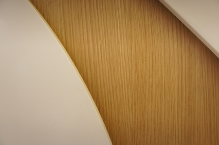 A harmonious background of wood texture and smooth texture.