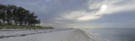 Panoramic view of Holmes Beach, Anna Maria Island,Manatee County,America