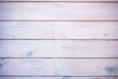 Wood horizontal planks background deck, texture vignetting