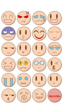 Leuke emoticons.