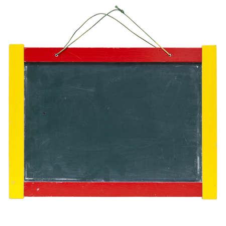 thorough: Children board, blackboard, whiteboard, blackboard on the white