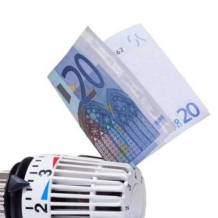 20 euro: Thermostat with 20 euro  Heating costs