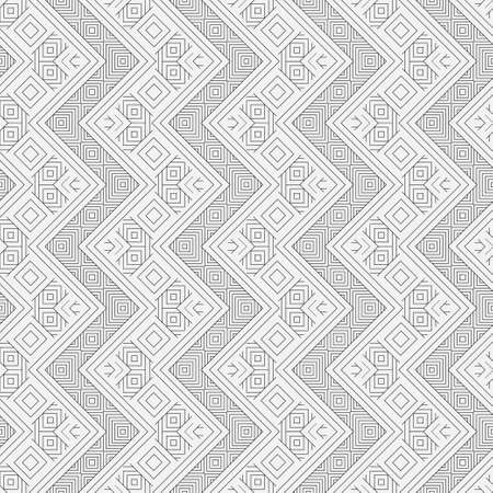 Seamless pattern with striped diagonal and vertical black lines. The monochrome changing thin line in the form of a corner. Approaches on wall-paper, packing and the card.