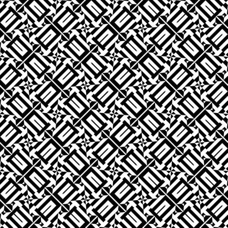 Modern abstract geometrical pattern. To apply on fabric, a background, packing, a card cover. Seamless vector. Иллюстрация