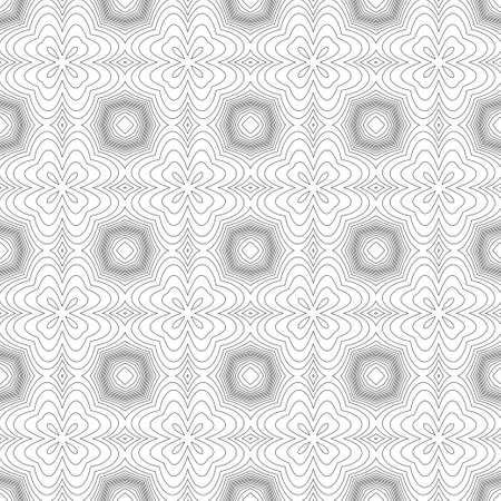 Seamless geometrical guilloche pattern. For protection of banknotes, certificates, diplomas. Vector illustration.