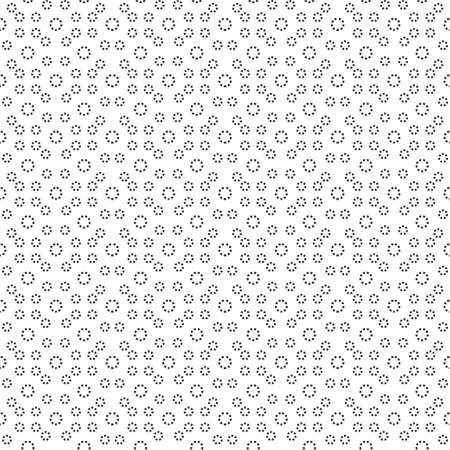 Monochrome vector illustration. A seamless ornament from rhombuses.