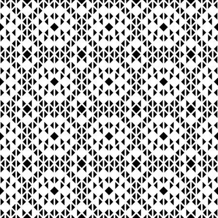 Abstract seamless vector template. A geometrical pattern from triangles, rhombuses and corners for design of the card, a cover, a flyer.