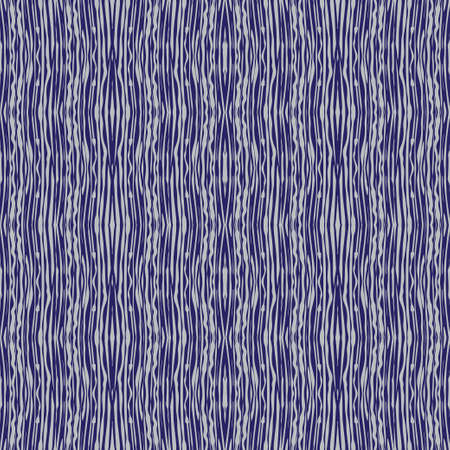 Seamless geometrical pattern. Graphic texture with effect of structure of a tree on a violet background. Vector illustration. Stock Illustratie