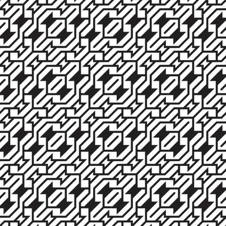 Abstract seamless black-and-white background. Geometrical vector illustration. Registration web, packing, texture.