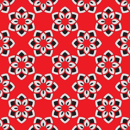 Art abstrait fleur. Texture géométrique à partir de fines lignes ovales des losanges créant des formes, une fleur. Une surface pour le papier brun, les chemises, les tissus. Graphiques vectoriels. Vecteurs