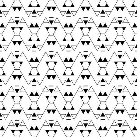 Abstract seamless models. Modern geometrical minimum texture with regularly repeating geometrical forms a corner, a rhombus, a zigzag, a triangle. Vector element of design.