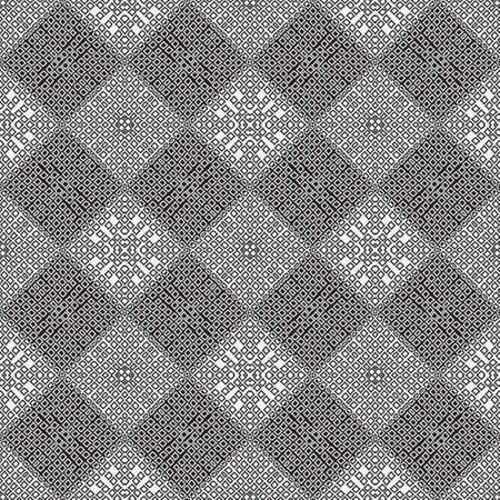 Modern linear seamless pattern. Psychodelic background. An abstract geometrical ornament of design from the repeating diamonds, rhombuses. Vector graphics.